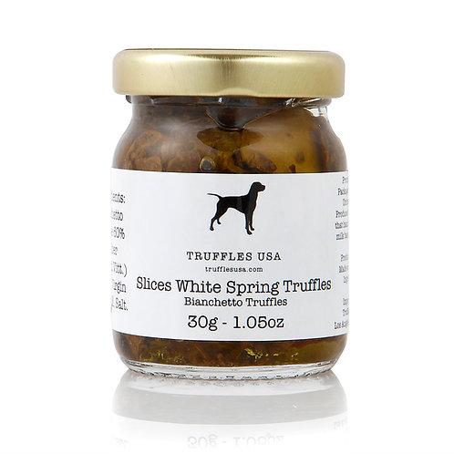 Slices White Spring Truffles 1.05oz (30g)
