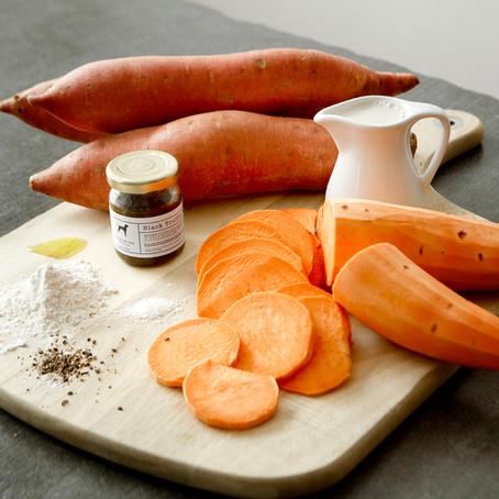 Truffle Sweet Potato Bake Recipe