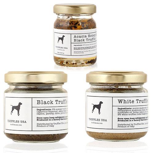 Truffle Sauce Trio Sampler