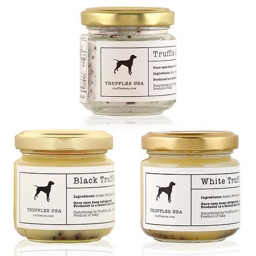 Truffle Butter Trio Sampler