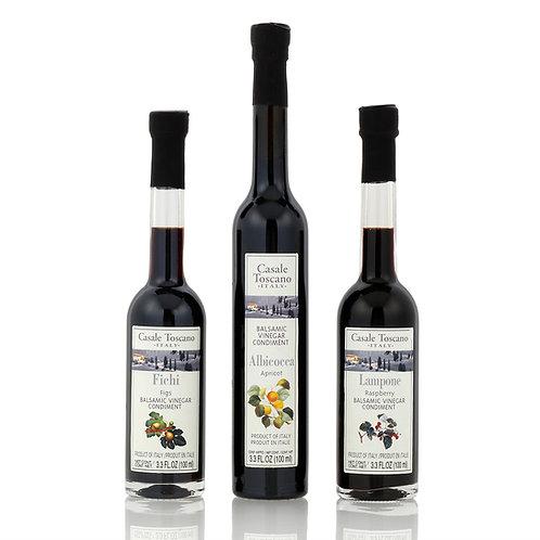 CASALE TOSCANO Balsamic Vinegar Trio 3.3oz (100ml)