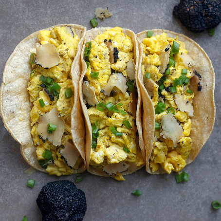 Truffle Eggs Tacos Recipe