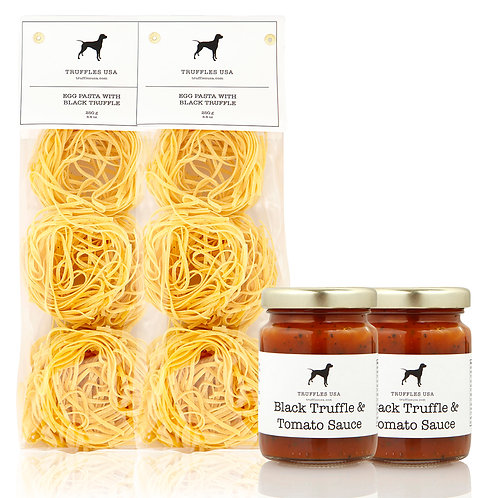 Truffle Pasta and Truffle Tomato Sauce Kit