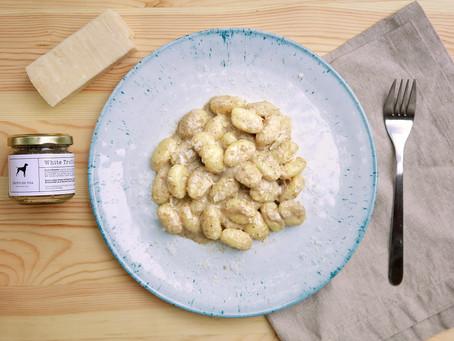 Gnocchi With White Truffle Sauce