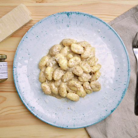 Gnocchi With White Truffle Sauce
