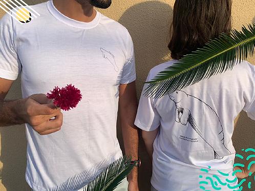Doação com Recompensa Camiseta Peixe-Boi