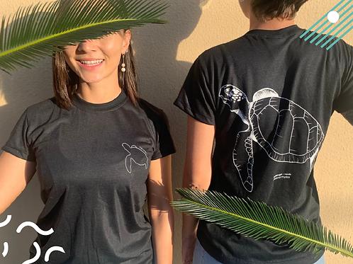 Doação com Recompensa Camiseta Tartaruga Verde
