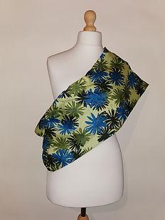 Green flower cotton pouch.jpg