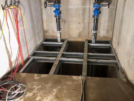 Gitterrostböden im Tunnelbau