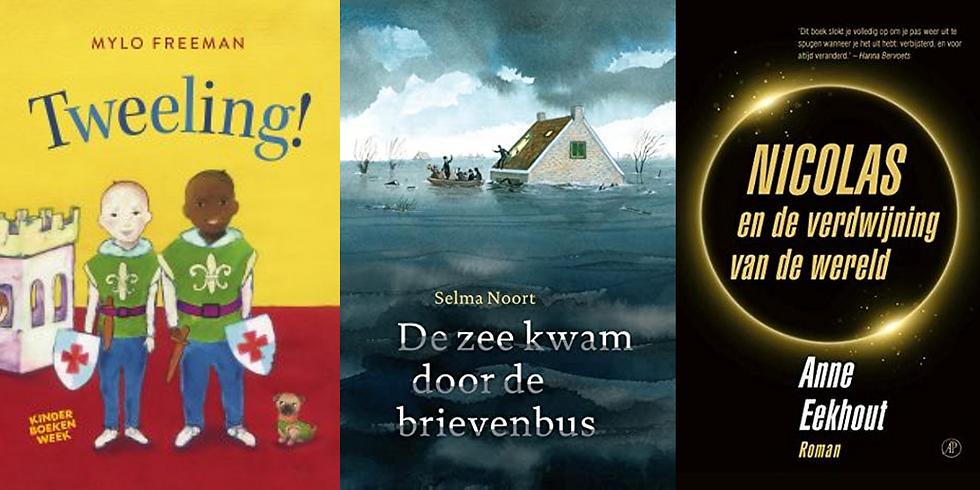 Kinderboekendag:  Alle 3 auteurs bijwonen