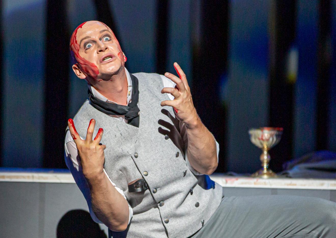 Andreas Mattersberger als Kaspar