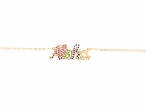 Collier ALOHA - Color & 14k Gold filled