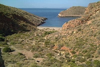 Trekking on  Cabo Tiñoso