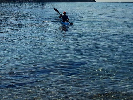 Con mucha ilusion hoy hemos tenido el primier dia al mar con mucha ilusion