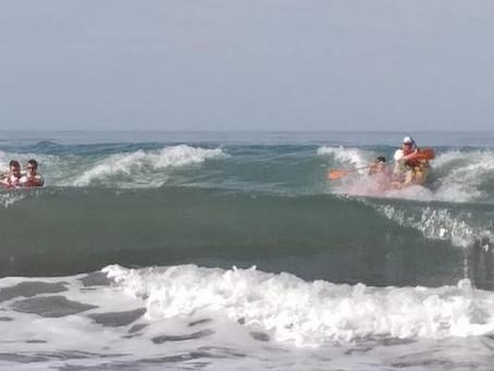 todo un exito en la primera regata kayak de mar la Azohia