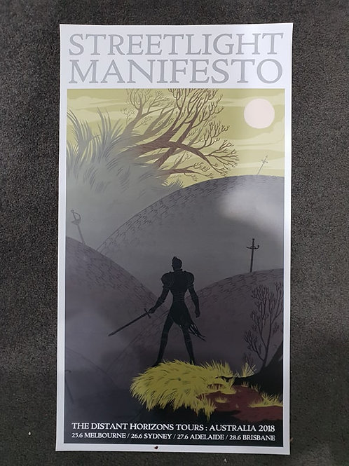 Streetlight Manifesto 2018 Tour Poster