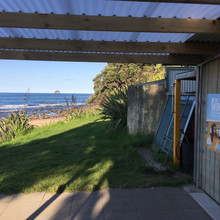 Fruju Hot Water Beach, Surf Club Poster.
