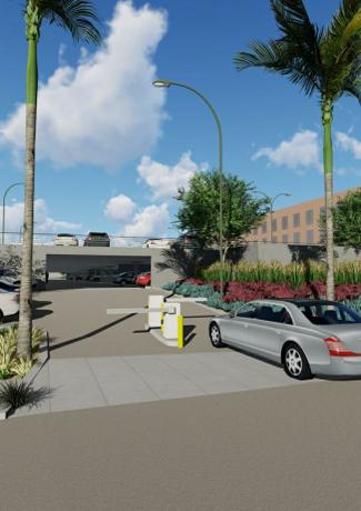 Chancellors Parking Structure