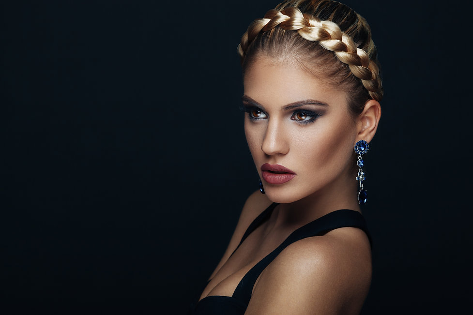 Beauty portrait of a young woman with braid hairstyle.jpg