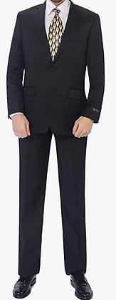 P&L Men's Suits 2-Piece Classic Fit Single Breasted 2 Buttons Blazer & Trousers