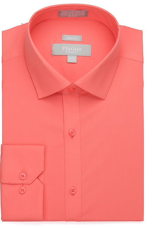 Platino Stretch Slim Fit Dress Shirt