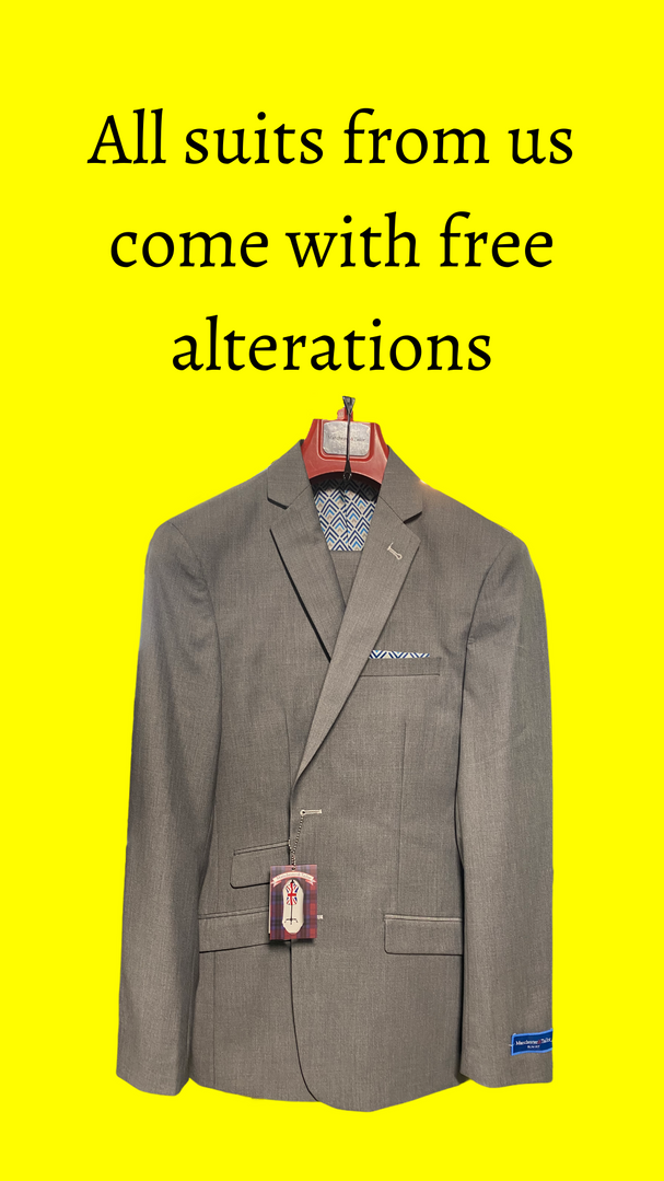 Free Suit Alterations