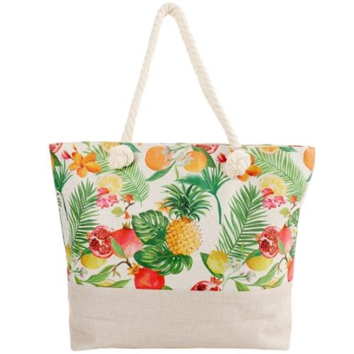 Fruit Designed Summer Tote