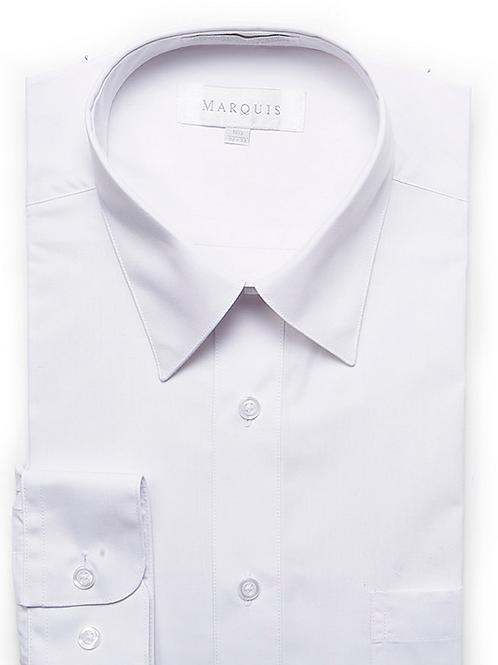 White Marquis Long Sleeve Dress Shirt