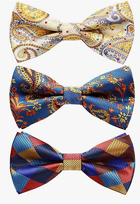 3 Pack Bowtie Sets - Lots of styles