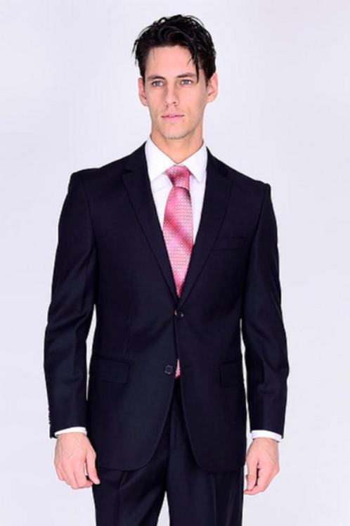 100% Wool 140s Suit - New Navy