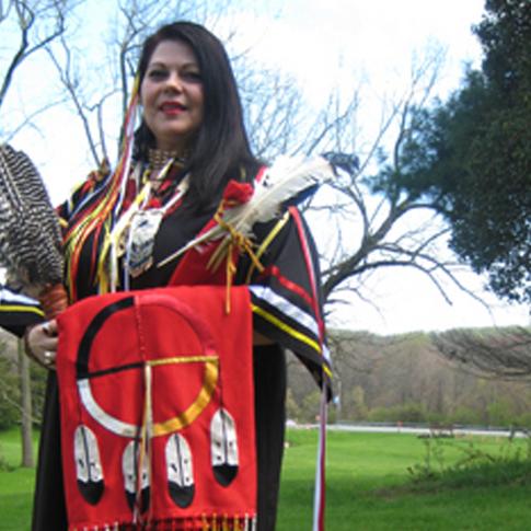 "Marietta Dantonio-Madsen ""Dream Weaver"" President & Founder of Totem Rhythms M.E.D, M.S. Professor and Chair of Fine Arts, Design, and Liberal Studies of Cheyney University of Pennsylvania"