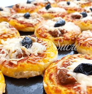 apéro dinatoire - mini pizza - buffet ro