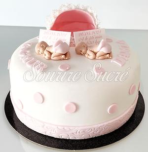 gateau naissance - gateau bébé - gâteau à thème - gateau babyshower - gateau sur commande