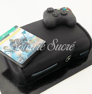 gateau xbox - gâteau  console xbox- gate