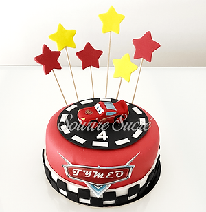 gateau cars - gâteau à thème - gateau an