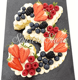 number cake - number cake numéro 3 - gat