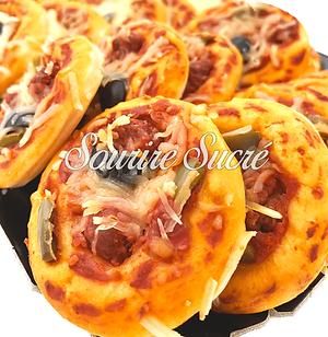 pizza traiteur rousillon - mini pizza orientale - traiteur roussillon - buffet roussillon