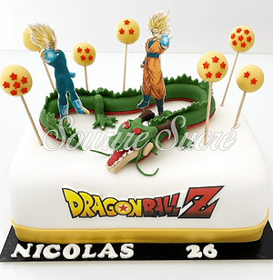 gateau dragon ball - gateau dragon ball z - gâteau à thème - gateau anniversaire - gateau