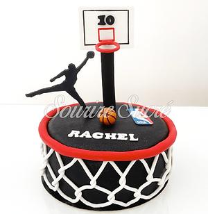 gateau basket - gateau basketball - gate