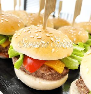 burger - mini burger - buffet roussillon - buffet traiteur - traiteur roussillon - box sal
