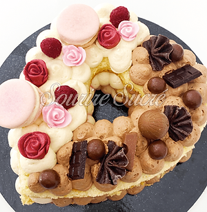 heart cake - heartcake - number cake - g