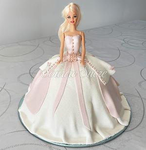 gateau barbie - gâteau anniversaire barb