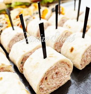 tortillas - roulés dinde - buffet roussillon - buffet traiteur - traiteur roussillon - box