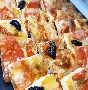 tarte tomate comté - tarte à la tomate -