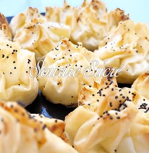 feuilletés - feuilletés fromage - buffet roussillon - buffet traiteur - traiteur roussillo