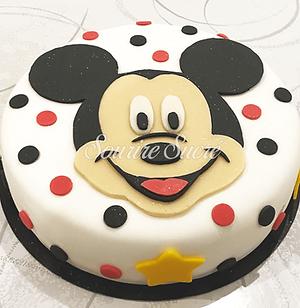 gateau anniversaire - gateau mickey - ga