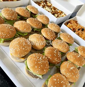 burger - mini burger - buffet roussillon