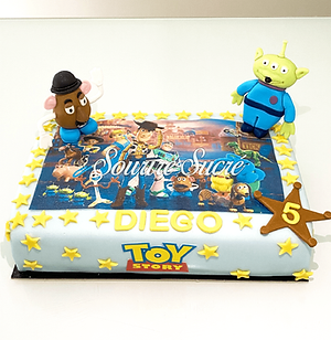 gateau toy story - gateau anniversaire -