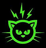 Green Kitty Face
