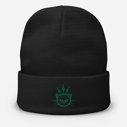 Embroidered Beanie